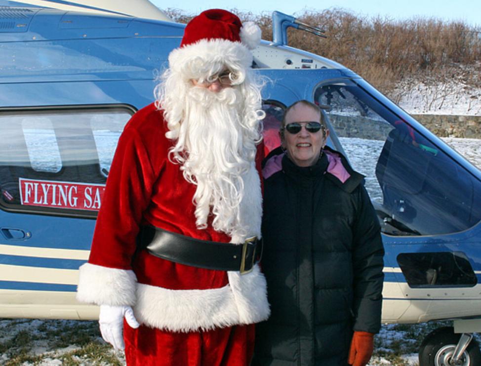 Nancy H. Marshall & Flying Santa